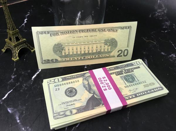 20 Dolars (100pcs)