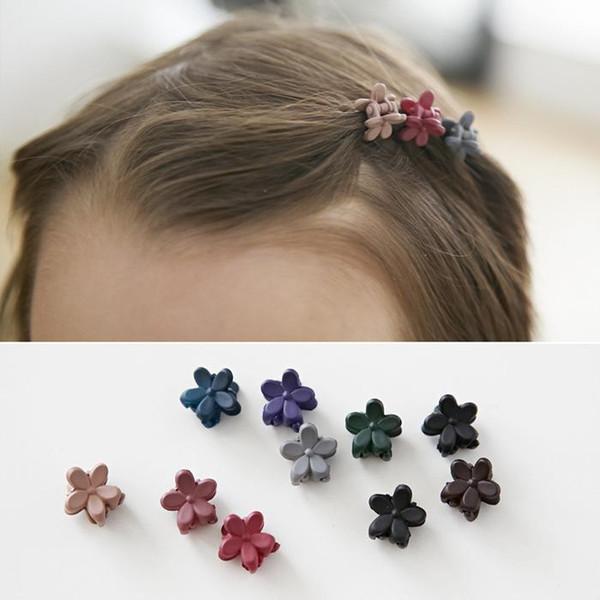 Kids Hair Accessories 2019 Hot Women Girl Mini Hair Claw Clips Flower Hair Bangs Pin Clips