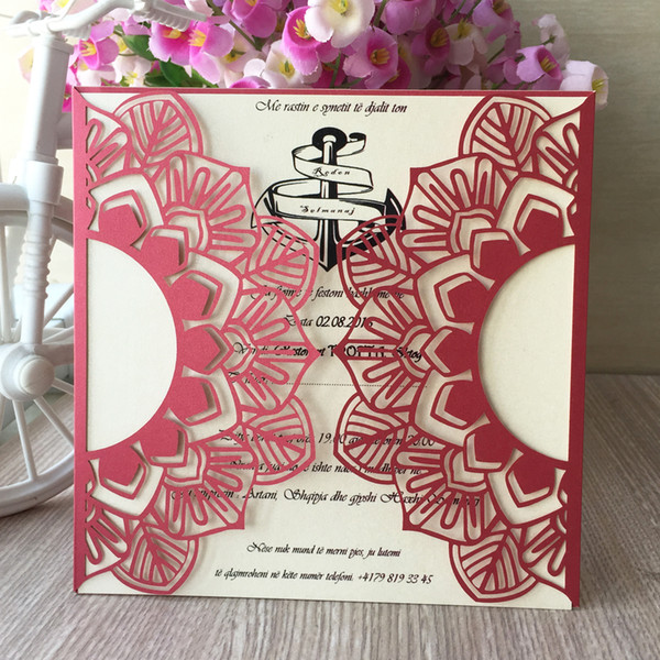 Sun Flowers Design With Wedding Invitation Cards Envelope Engagements Blessing Birthday Party Celebration Blessing Festival Invitation Cards