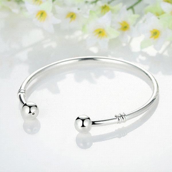 WOSTU vendita calda argento europeo fascino tallone braccialetto braccialetto gioielli moda per donna uomo regalo SDP3040