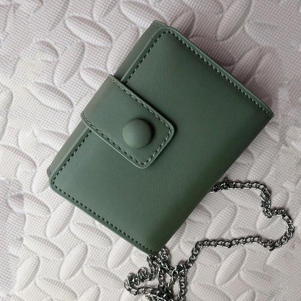 mulheres designer de moda com a tiracolo batom espelho cadeia de bolsa bolsa de maquiagem pendurado saco de cosmética simples sweet325f #