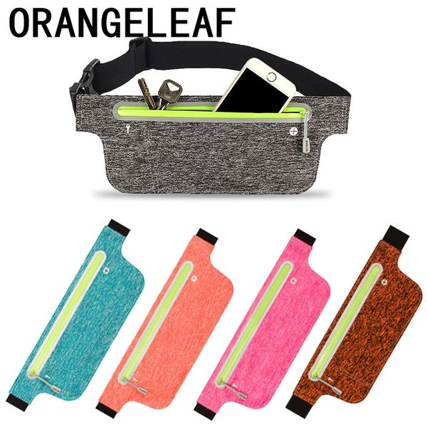 Lycra Nylon Travel Waist Bag For Women And Men Funny Pack Portable Slim Security Useful Travel Bag Hidden Wallet Money #31587