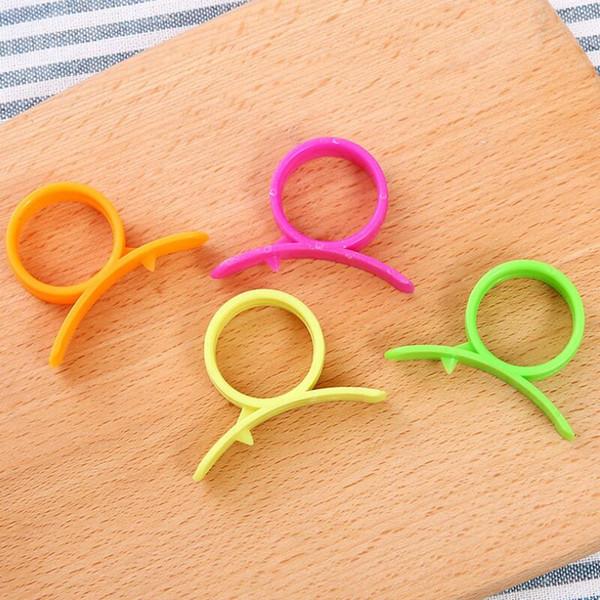 Dispositivo de alta calidad New Orange Peelers samll práctico abridor separador de naranjas frutas vegetales herramientas de cocina LX7502