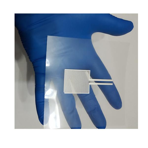 best selling Transparent Interdigitated Silver Electrodes Polyethylene Terephthalate PET Flexible Capacitor Large Size Big Ag Electrode