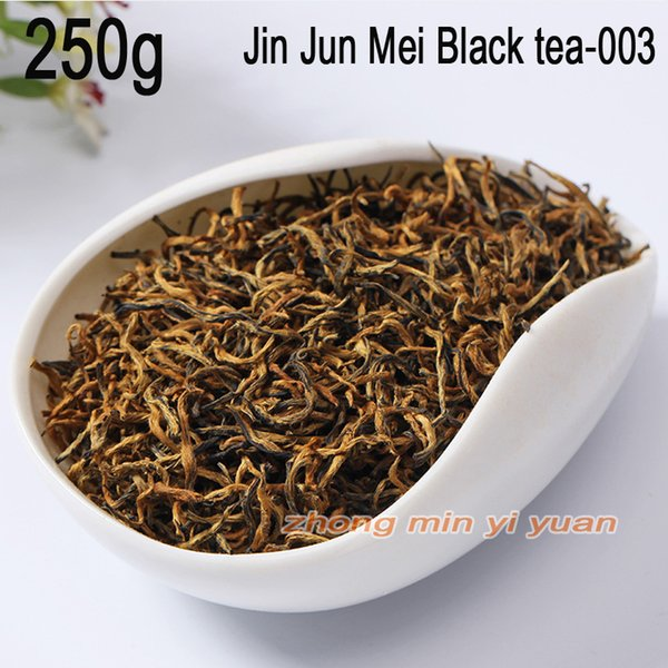 003 sale good tea the hand jin junmei wuyi black tea 2019 spring new tea authentic 250g +gift
