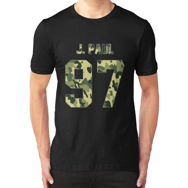 New Jake Paul - Camo Men's T-shirt Black
