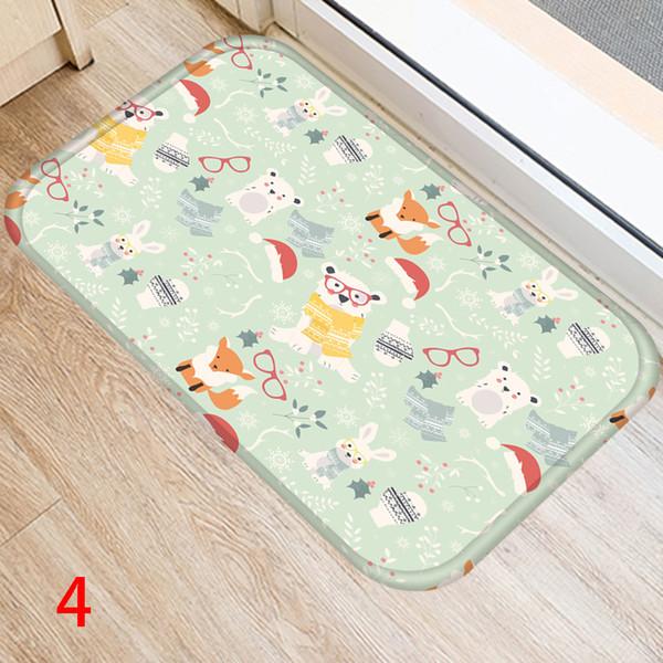 60*40cm Mat Decoration Pad Welcome Anti Slip Cushion Area Rug Door House Supplies Floor