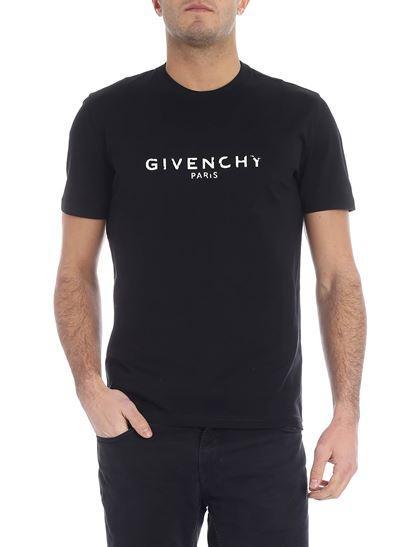19ss Moda Europa París Vintage Camiseta Logo Parche Camisetas Imprimir Carta Hombres Camisas Mujeres Tops Ropa de Hombre Camiseta de Algodón G9061