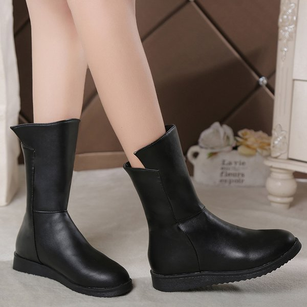best service well known limited guantity Winter Boots Women Boots Shoes Women Shoes Bottes Femme 2018 Nouveau  Chaussures Femme Boots Online Leather Boots From Liucpik, $20.49| DHgate.Com