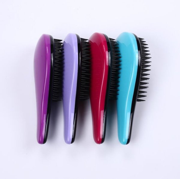 2019 new TT combplastic anti-static hair brushes direct current comb hairdressing tool hairdressing comb 4-7 colors # sz04