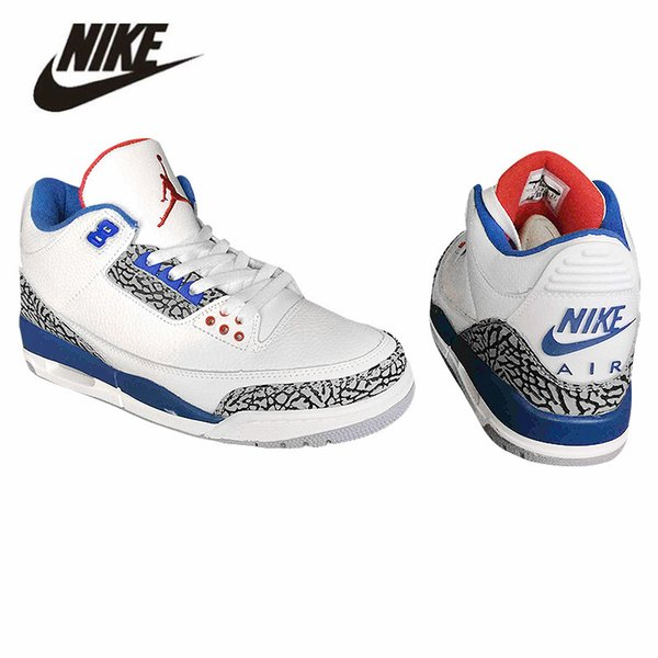 newest 9cebc 143ea 2019 Nike Air Jordan Retro 3 Basketball Shoes 3s Jordan III Jordans Michael  Air Trainers Quai 54 Men Women Tinker Mocha JTH Mocha Charity Game Pure ...