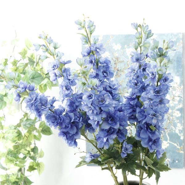 105 centimetri fiore artificiale lungo ramo falso fiore matrimonio decorazione della casa fiore disposizione centrotavola centrotavola decorazioni di nozze