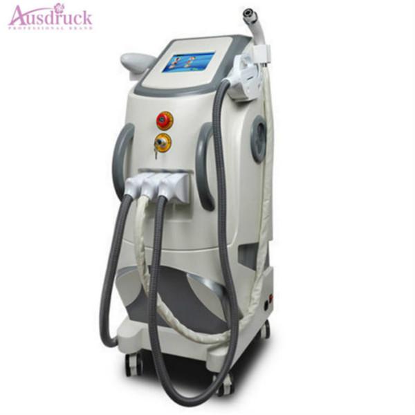 New 3in1 Elight Radio Rf Skin Rejuvenation Machine Facial Lifting ND yag laser Tattoo Eyebrow Hair Removal 1064nm E-light