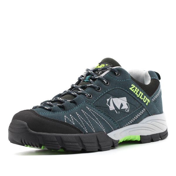 c108014b82 Hombres Para caminar al aire libre zapatos Zapatos de cuero a prueba de  agua Antideslizantes A