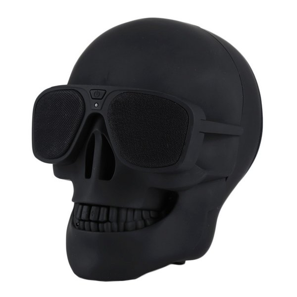 Luxury Skull Player Wireless Bluetooth Speaker Sunglass speaker Mobile Subwoofer Multipurpose Speakers Cool For Smart Android phone