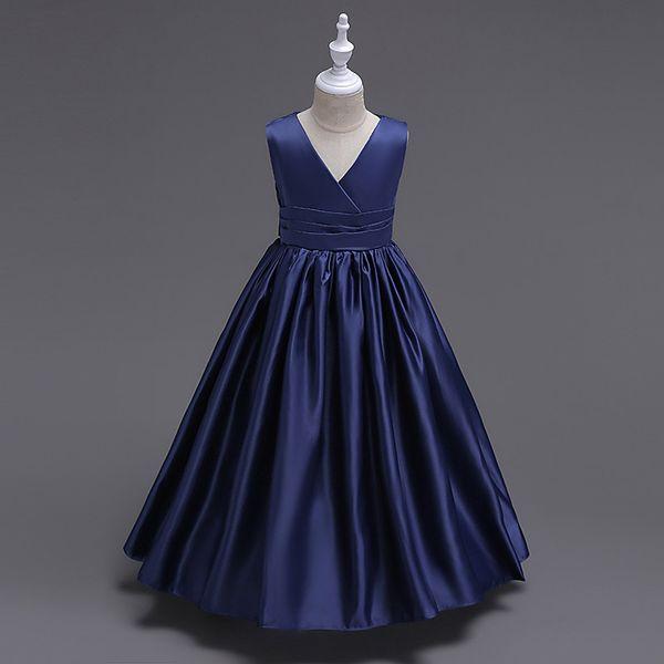 Compre Vestidos De Las Muchachas 2019 Nuevo Partido De La Muchacha De Los Vestidos De Moda De Alta Línea De La Princesa Vestido De La Muchacha Niños