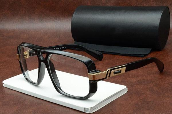 Sıcak Moda Erkekler Kadınlar için Güneş Gözlüğü Tasarımcı Gözlük Kare Shades Retro Vintage Yaz Stil Güneş Gözlükleri Trend Gözlük Gafas de sol