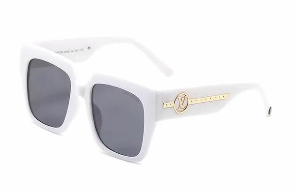 2019 óculos de sol do MILIONÁRIO óculos full frame óculos escuros de grife vintage para homens brilhante do ouro Logo Hot vender banhados a ouro Top
