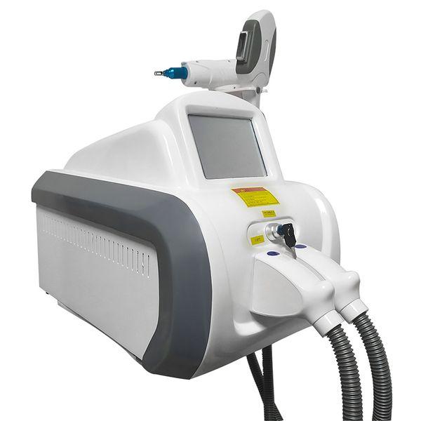 2in1 Multifunction Beauty Salon Equipment Ipl Laser Hair Removal Elight Opt Shr Ipl Machine Nd Yag Laser Tattoo Removal Machine