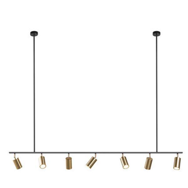 Lampade a sospensione con paralume in oro Lampada a sospensione a LED a sospensione GU10 Design nordico moderno per apparecchio a sospensione in metallo per sala da pranzo
