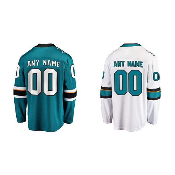 Mens San Jose Sharks Custom Bobby Ryan Brady Tkachuk Mark Stone Erik Karlsson Matt Duchene Cody Ceci Hockey Jersey