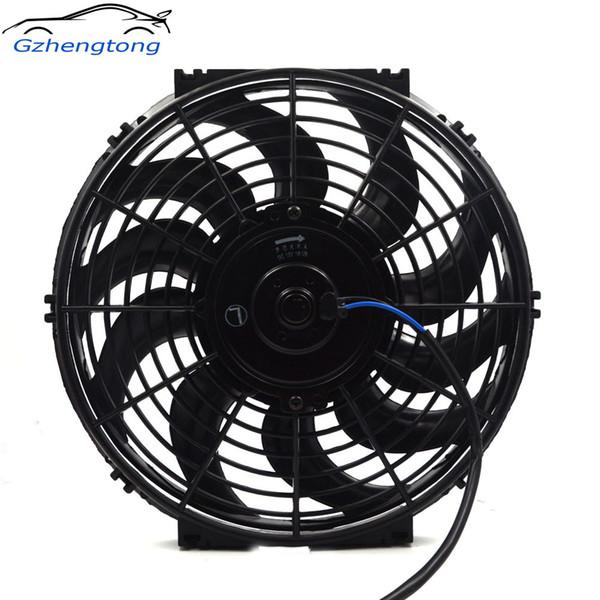 \ Gzhengotng universale da 12 pollici elettrico ventola di raffreddamento del radiatore Fan Film 12V / 24V per Muscle Hot Rod Classic Car Air Conditioner