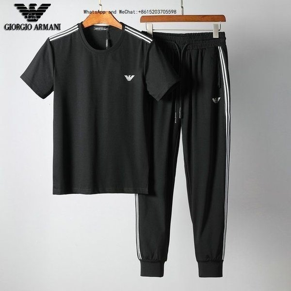 Sweatshirts Sweat Mens Clothing Men's Short Tracksuits Jackets Sportswear Sets Jogging Hoodies Suit Fashion Gym Bee Printed