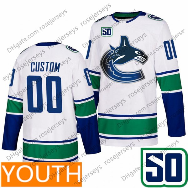 Youth White (S-XL) con 50TH