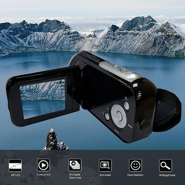 CARPRIE Video-Camcorder HD 1080P Handheld-Digitalkamera mit 4-fachem Digitalzoom, maximaler 16-Megapixel-Kamera Drop.1.10 Co.