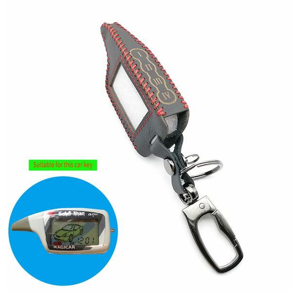 haute qualité cas clés de voiture LCD alarme voiture pour Scher-5 6 LCD à distance uniquement Utiliser uniquement Scher Khan Magicar khan Magicar M5 Key Cover