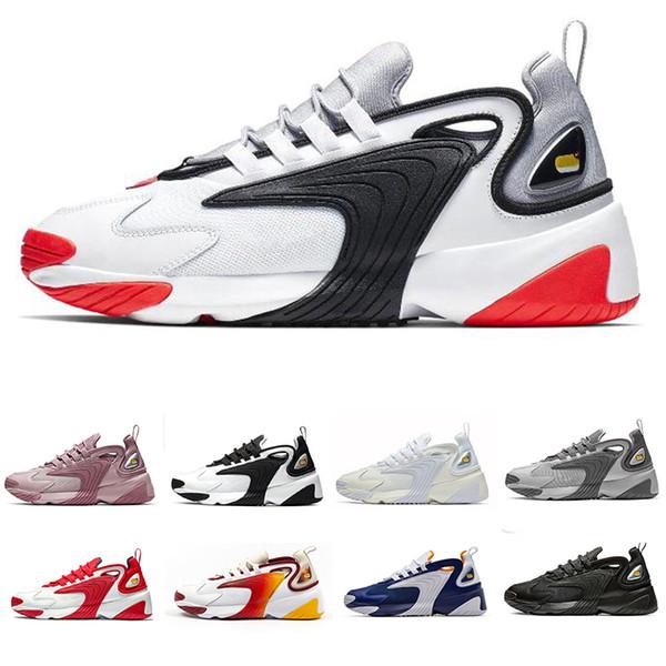 Compre Nike Zoom 2K 2019 Triple Negro Zoom 2K Zapatos Para
