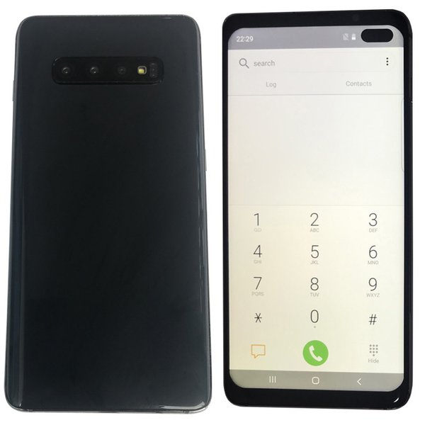 top popular 10 plus Goophone 10+ 6.5 Inch Goophone 10 plus with Face ID WCDMA 3G Quad Core Ram 1GB ROM 8GB Android 9.0 Camera 8.0MP Show 5G 8+512GB 2019