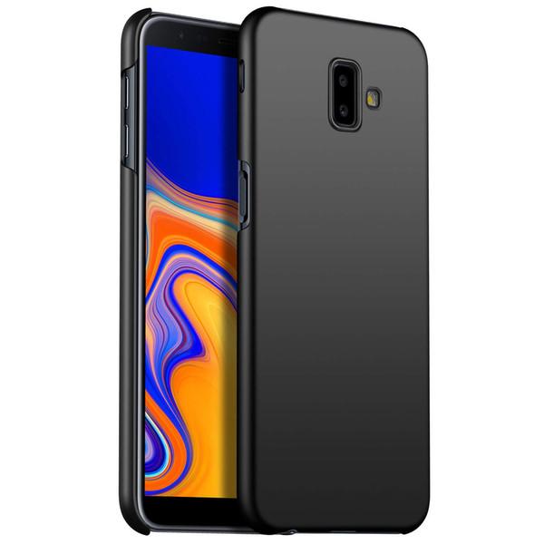 For Samsung Galaxy A6 A8 J4 J6 J8 Plus A7 A9 2018 J3 J5 J7 Pro Case Hard Cover Matte Finish Frosted Non-Fingerprint