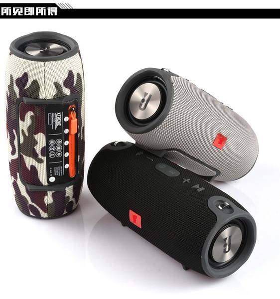 Sıcak Küçük Savaş Davul Ağır Subwoofer Bluetooth Hoparlör Taşınabilir Taşınabilir Güç Kaynağı Ses Su Geçirmez Çift Boynuz Hi-Fi Kutusu Hoparlör