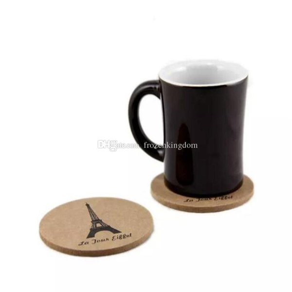 New cork wooden Coffee mat / Cup Coaster / Tea Mat & pads / Novelty households Table Pot Coaster Crochet a101-a108