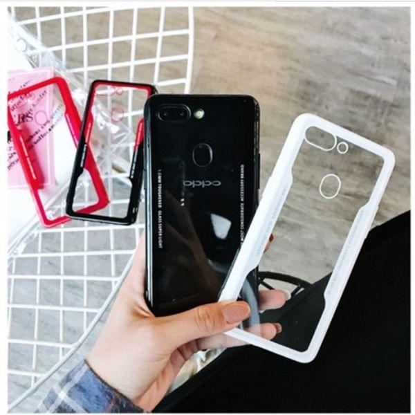 Для IPhone 5 6 7 8 Plus мобильный телефон чехол для имитации стекла XS Max XR прозрачный акриловый защитный чехол