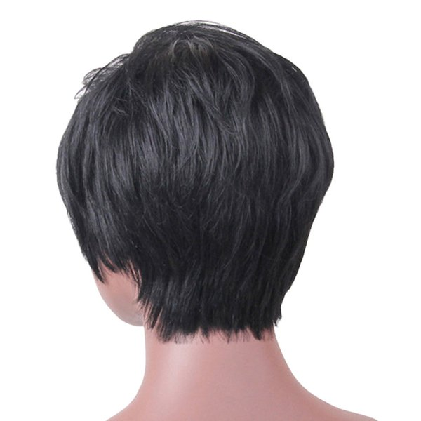 Lady Girls Wig Women's Short Straight Bangs Full Hair Wigs Cosplay Party Wig>>>>Free shipping New High Quality Fashion Picture wig