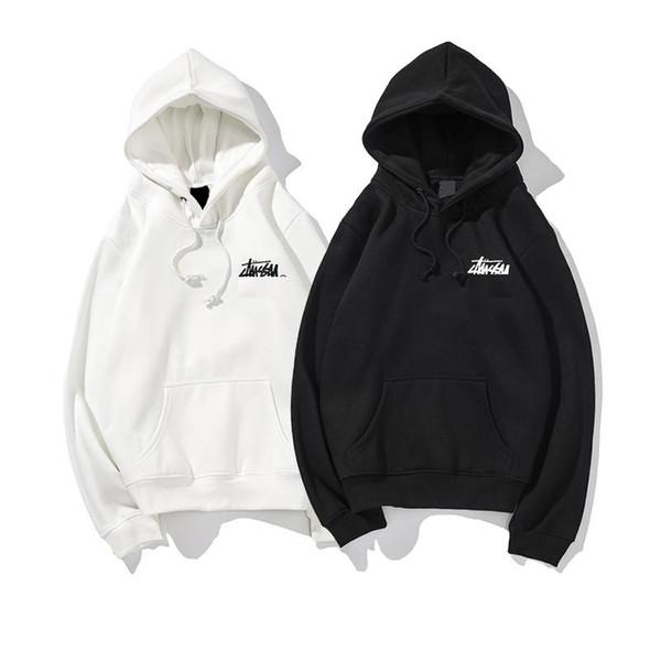 Spring new designer men's hoodie high quality fashion trend luxury wool top men's jacket sports loose hoodie