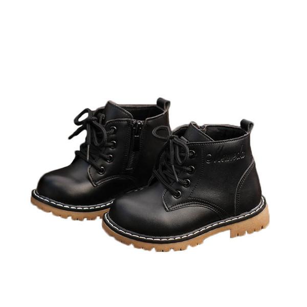 niños Nueva otoño zapatos de niño zapatos niños botas botas botas niño niños niñas diseñador Martin Martin chicos de arranque de arranque de arranque chicos A9663 menor