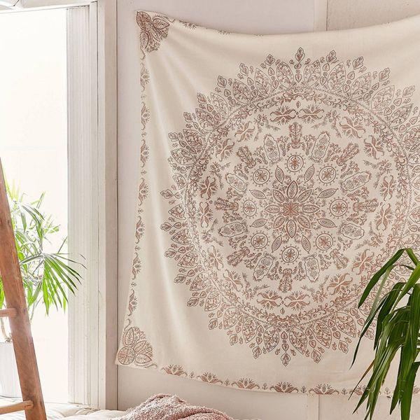 Tapisserie Mandala Hippie Bohème Tenture murale Fleur Tapisserie Tenture Décor pour Salon Chambre