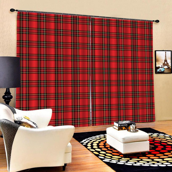 2019 3D Window Curtains Living Room Wedding Bedroom Cortinas Drapes Red  Curtains Wedding Curtain From Georgen, $110.25 | DHgate.Com