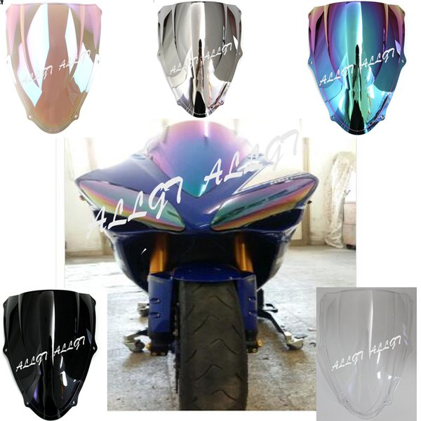 ALLGT Motorcycle Windscreen Front Windshield for Suzuki TL1000R 1998 1999 2000 2001 2002