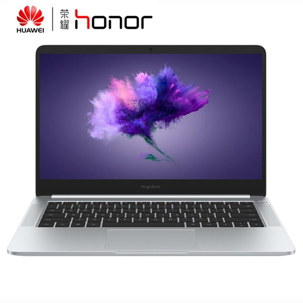 Huawei Honor MagicBook Notebook 14 Zoll R5 2500U Dual Graphics 8 GB RAM 256 GB SSD Notebook Win10 OS Silber