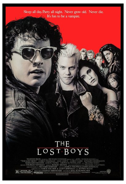 Horror: * The Lost Boys * Kiefer Sutherland USA Movie Art Silk Poster 24x36inch 24x43inch