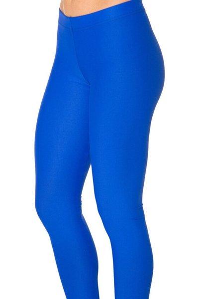 Neon azul royal navy skyblue cinza escuro preto roxo cor sólida yoga leggings meninas magras de fitness calças justas de compressão legging # 282670