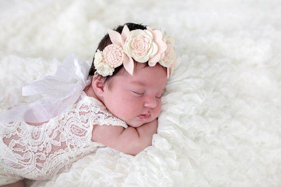34 Style Handmade Boutique Nylon Headband with Fabric Bow for Baby Girls Hair Accessories Hair Flowers Head Band Wholesales