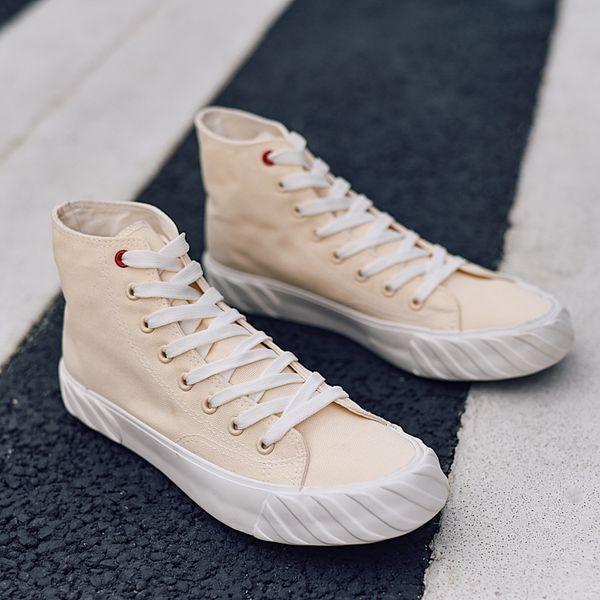 Мода Back To School Обувь совета голеностопного загрузки Skate кроссовки Ulzzang вскользь пары тапочек Молодежные веревочные подошвами Hip-поп Модные Холст обувь