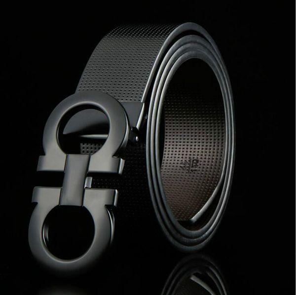 SFerragam0 designer belt business waistbands imports really leather fashion 8 buckle belt Zinc alloy buckle belts 002