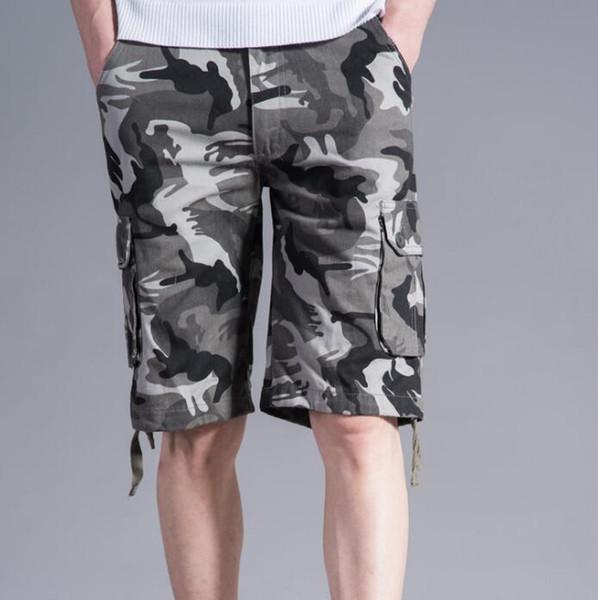Nueva carga pantalones cortos hombres de camuflaje militar militar pantalones  cortos de verano venta caliente Hip 75bb3e02dd8