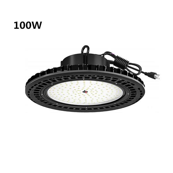 2019 Ufo Led High Bay Lighting 200w 24000lm 5000k Ip65 Waterproof Plug Warehouse Lights Industrial Workshop High Bay Led Lights Fixtures From